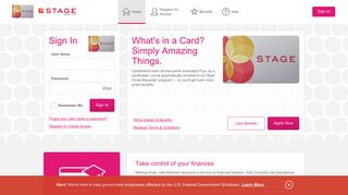 Stage Credit Card - Manage your account - Comenity