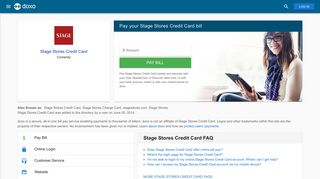 Stage Stores Credit Card: Login, Bill Pay, Customer Service and Care ...