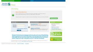 Online Banking - Standard Chartered Bank Pakistan