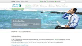 Online Banking - Ways to Bank - Standard Chartered Bank Pakistan
