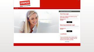 Staples - My Login
