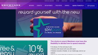 StarPass Loyalty Program   Showcase Cinemas