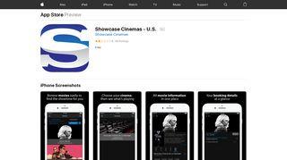 Showcase Cinemas - U.S. on the App Store - iTunes - Apple