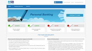 State Bank of India - Personal Banking - OnlineSBI