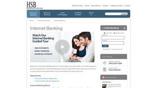 Internet Banking | Huntington State Bank
