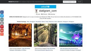 WWW.STATIGRAM.COM(@statigram_com) - Instagram photos and ...