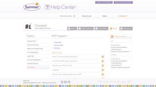 FAQs - Connect - Summer Infant Help Center