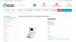 Summer Infant Baby Link™ WiFi Internet Viewing Camera - Parents ...