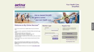 My Online Services: Member Login