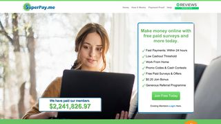 SuperPay.Me - Register For A Free Account & Start Earning Easy ...