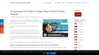 Is Superpay.me a Scam or Super Way to Earn? (Insider Review)