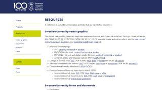 Simon Robinson - Resources - Swansea University