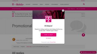 Promotional Debit Mastercard | T-Mobile Support