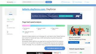 Access talbots.dayforce.com. Dayforce
