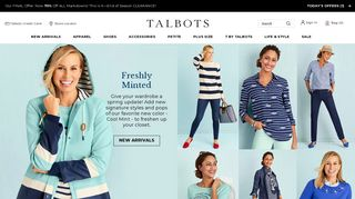 Talbots   Mobile Login