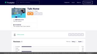 Talk Home Reviews   Read Customer Service Reviews of talkhome.co ...