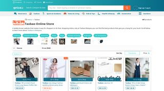 Buy GROCERIES from TAOBAO Malaysia 2019 | iPrice