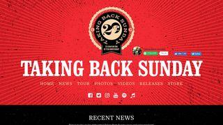 Taking Back Sunday – Official Website