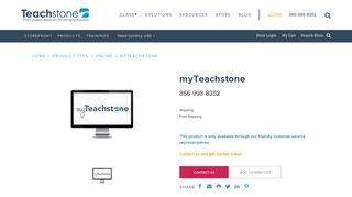 myTeachstone | Teachstone - Teachstone CLASS Store