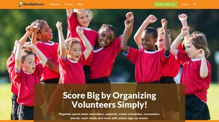 Sports Sign Up Sheets | Organize Games and Volunteers