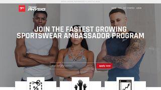TeamPhysiq - The Physiq Apparel Athlete Affiliate Program