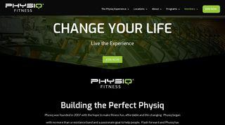 Physiq Fitness: Home