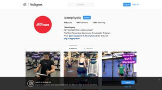 TeamPhysiq (@teamphysiq) • Instagram photos and videos