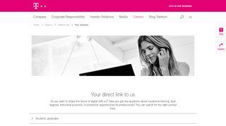 Email deutsche login telekom Deutsche Telekom