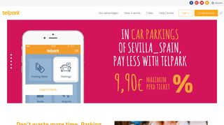 Telpark | Your smartphone is your personal parking meter