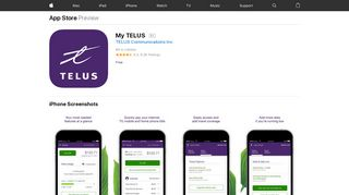 My TELUS on the App Store - iTunes - Apple