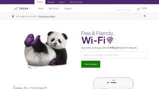 #TELUS Wi-Fi Hotspots | TELUS.com