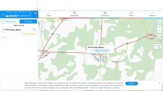Map of Temax - Michelin Temax map - ViaMichelin