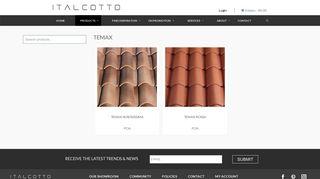 Temax Archives - Italcotto