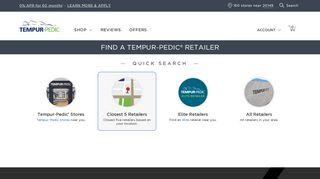 Find a Retailer | Find a Retailer | Tempur-Pedic