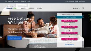 Tempur-Pedic Official Website | Shop Tempur-Pedic Mattresses ...