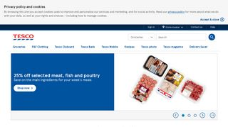 Tesco :: Online Groceries, Banking & Mobile Phones