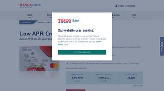 Low APR Credit Card - Credit Card - Tesco Bank