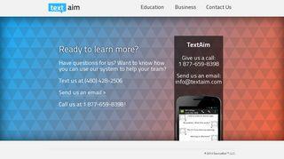 TextAim - Contact Us