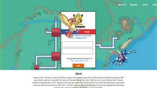 Pokemon Neo Thunder | Online Pokemon RPG