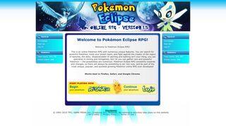 Pokemon Eclipse RPG - Online Pokemon RPG Game