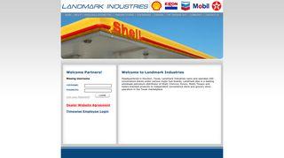Timewise Employee Login - Landmark Industries