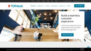 TOPdesk: Top Rated Service Management Software