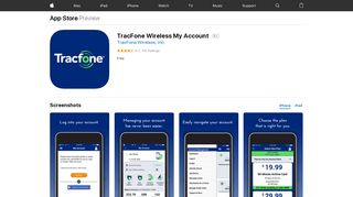 TracFone Wireless My Account on the App Store - iTunes - Apple