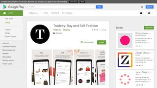 Tradesy: Buy and Sell Fashion - Apps on Google Play