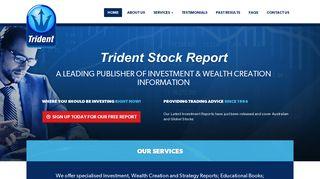 Trident Stock Report