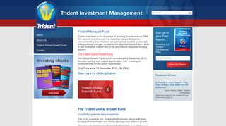 Trident Investment Management