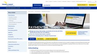 Payments & Transfers - Truliant Federal Credit Union