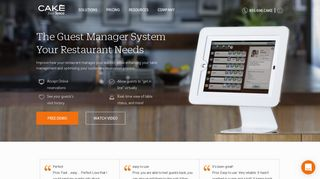 Restaurant Guest Manager System | CAKE from Sysco - Cake POS