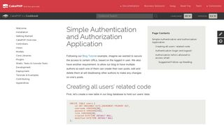 Simple Authentication and Authorization Application - 2.x
