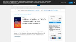 Arbitrary Modeling of TSVs for 3D Integrated Circuits | Khaled Salah ...